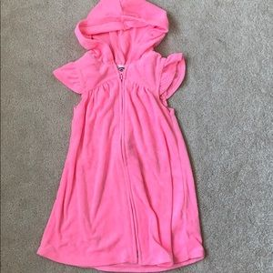 Old Navy Pink Swimsuit Cover Up - Size 4T